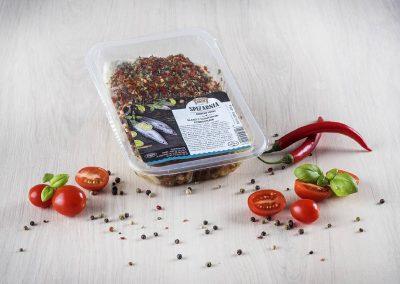 Śledź z suszonymi pomidorami 150g